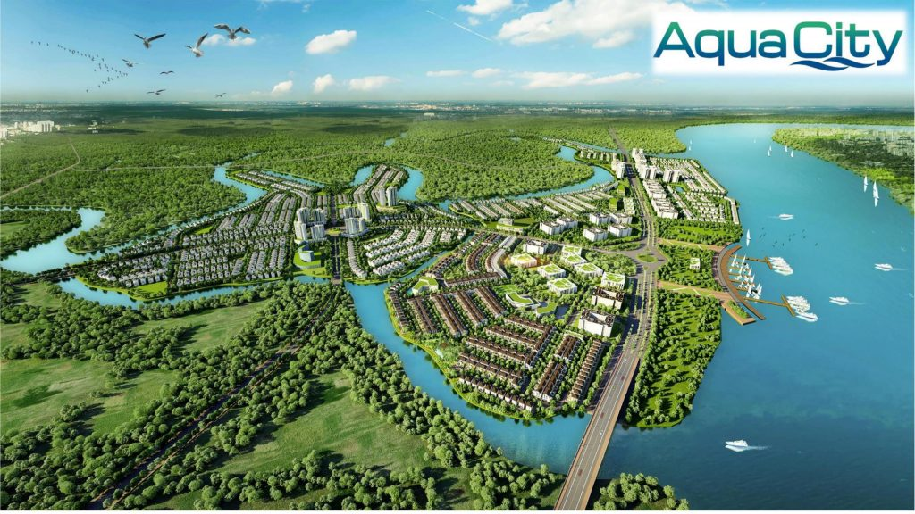 phoi canh aqua city